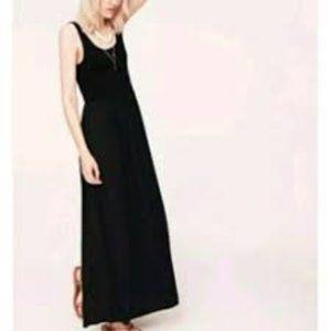 Lou & Grey Black Maxi Dress